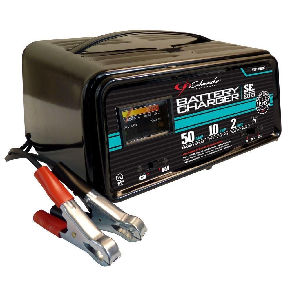 12 Volt Battery Charger Schumacher Electric Maintainer Engine
