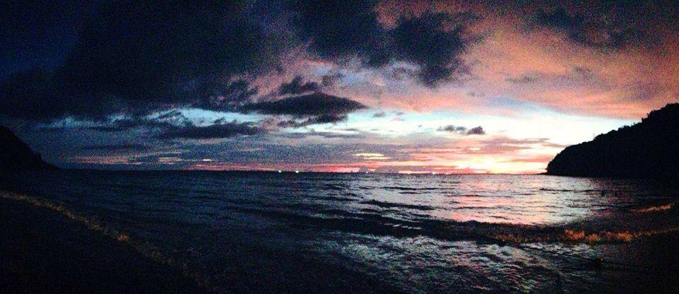 Phuket, Thailand sunset