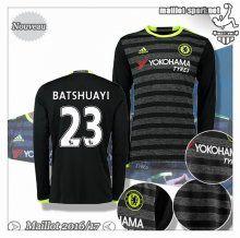 Maillots-Sport: Le Meilleur Du Nouveau Maillot Chelsea Manche Longue Batshuayi 23 Exterieur 2016 2017
