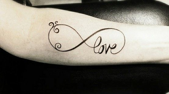 Infinity Love Tattoos Pictures forever love infinity tattoo | infinity love tattoo / simple glam