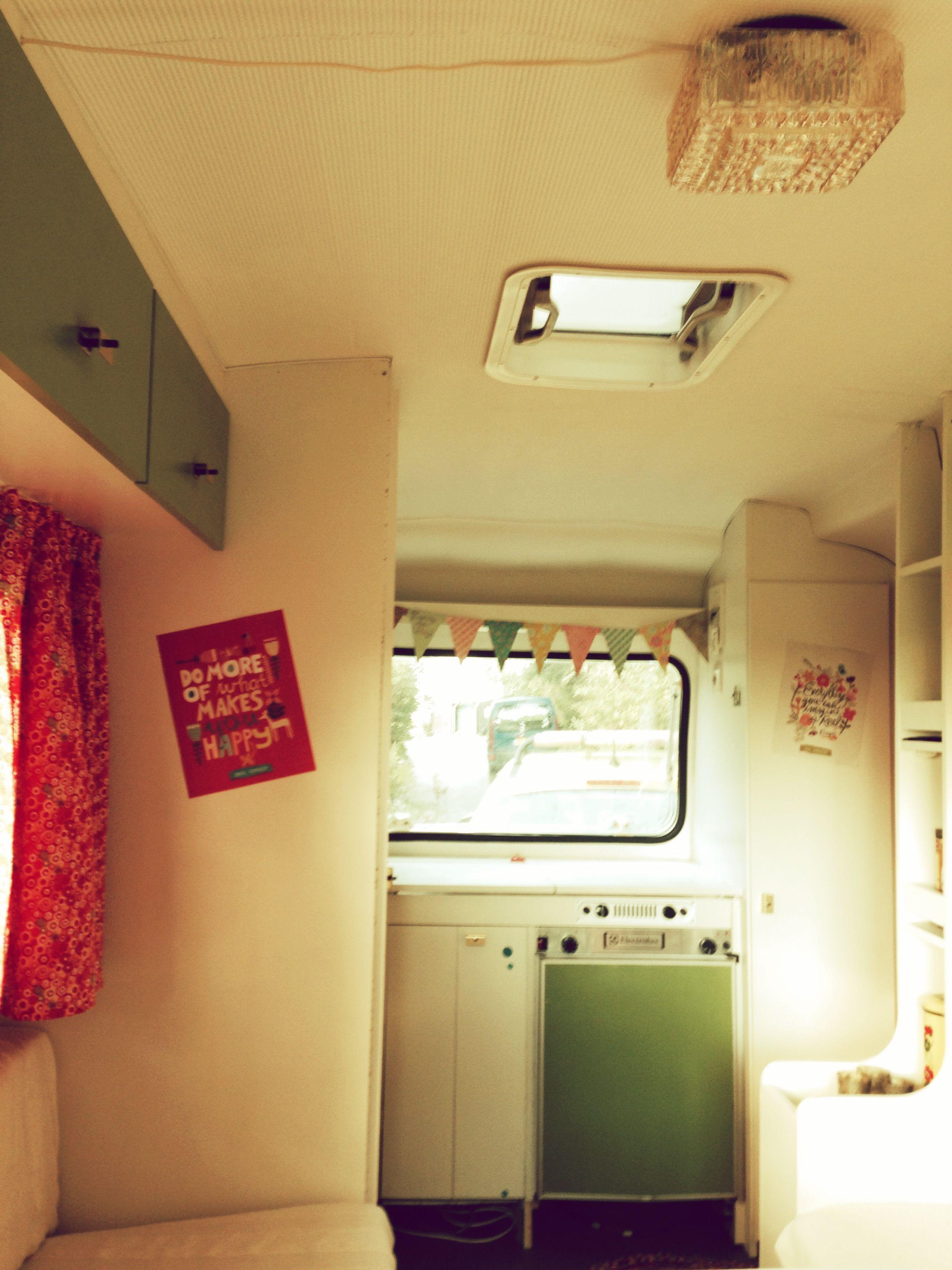 Caravan - Lander Graziella 340 - gepimpt interieur | caravan | Pinterest