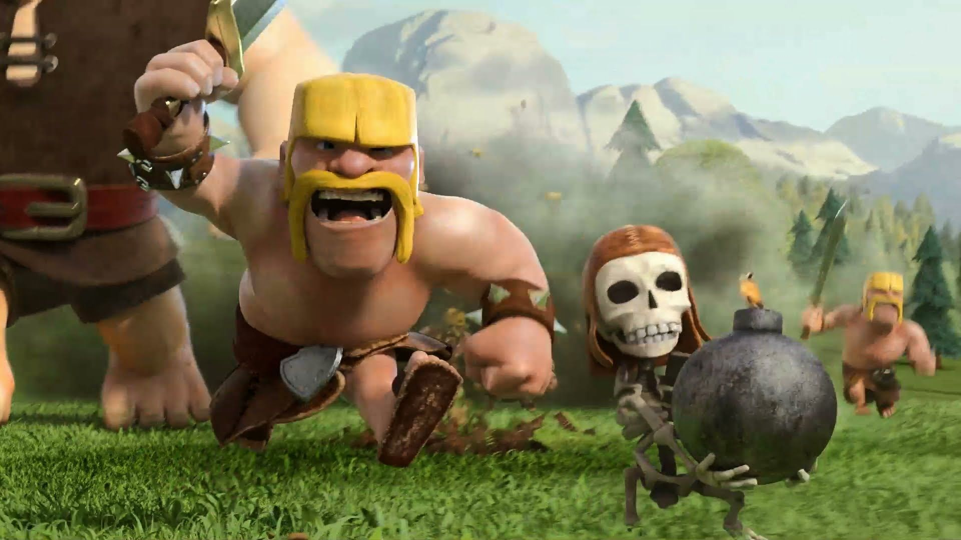 Mobile game commercial - Clash Of Clans You And This Army Official Tv Commercial
