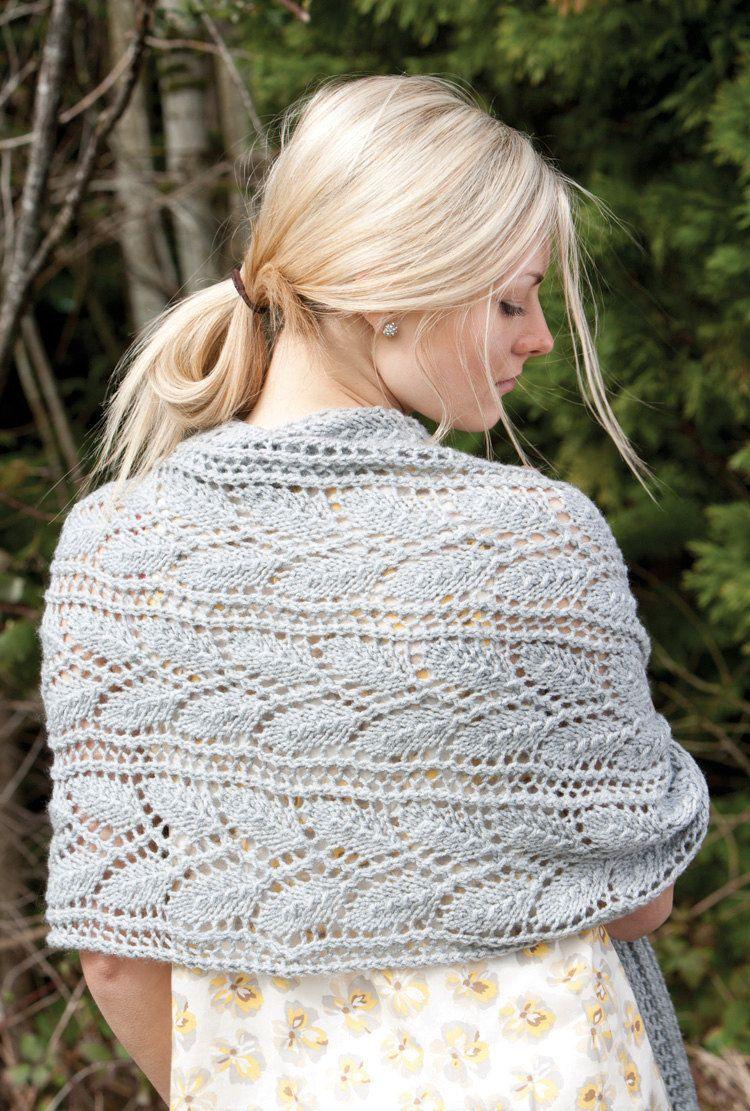 Knitted Wrap, Scarf or Prayer Shawl pattern. PDF download | Knit ...