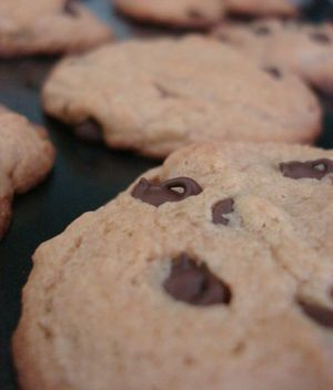 Chocolate Chip Cookie Recipe (with lard)
