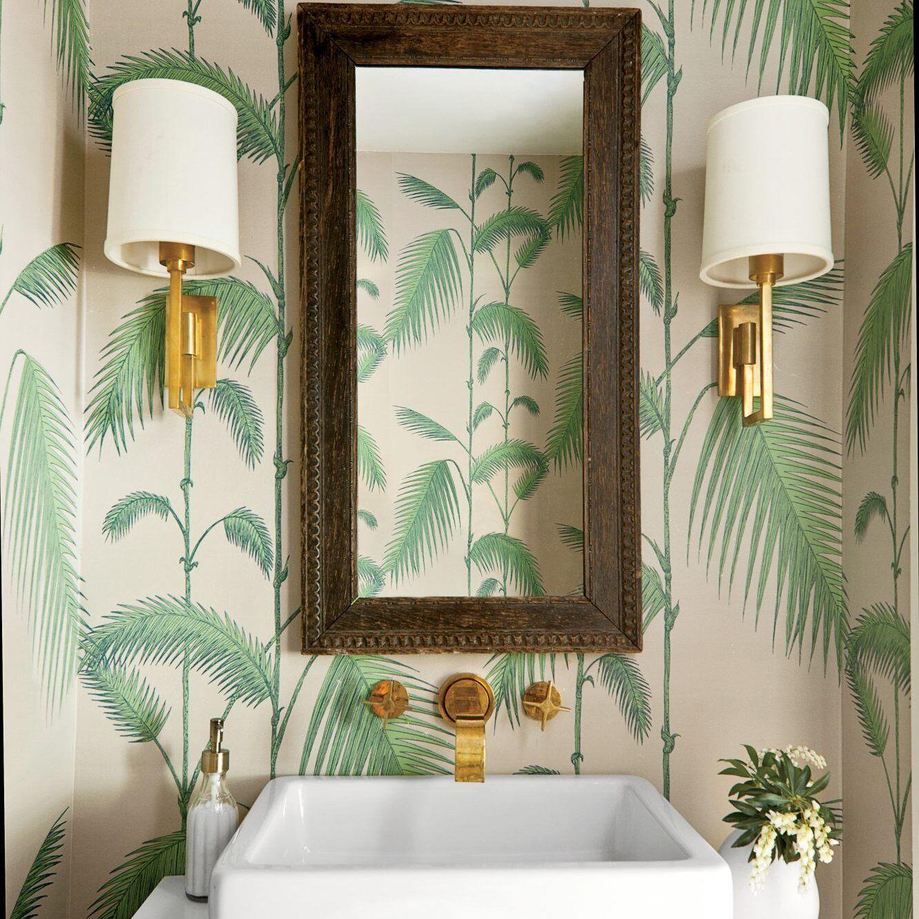 Beautiful Wallpaper Ideas Tropical Furniture Tropical Bathroom Tropical Interior Design