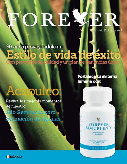 Boletín Forever   Julio 2014