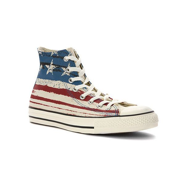 Converse Chuck Taylor Flag Print High Top Sneaker Sneakers & Athletic...  ($42