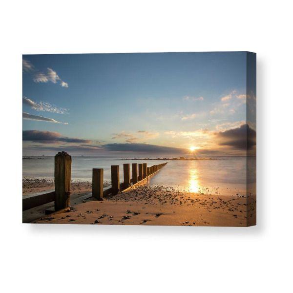 Aberdeen Beach print or canvas print