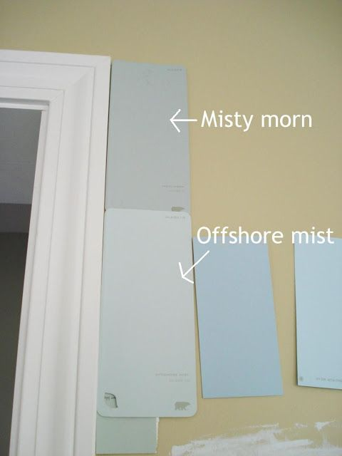 Behr Offshore Mist Colorful Blue Room Paint Bedroom