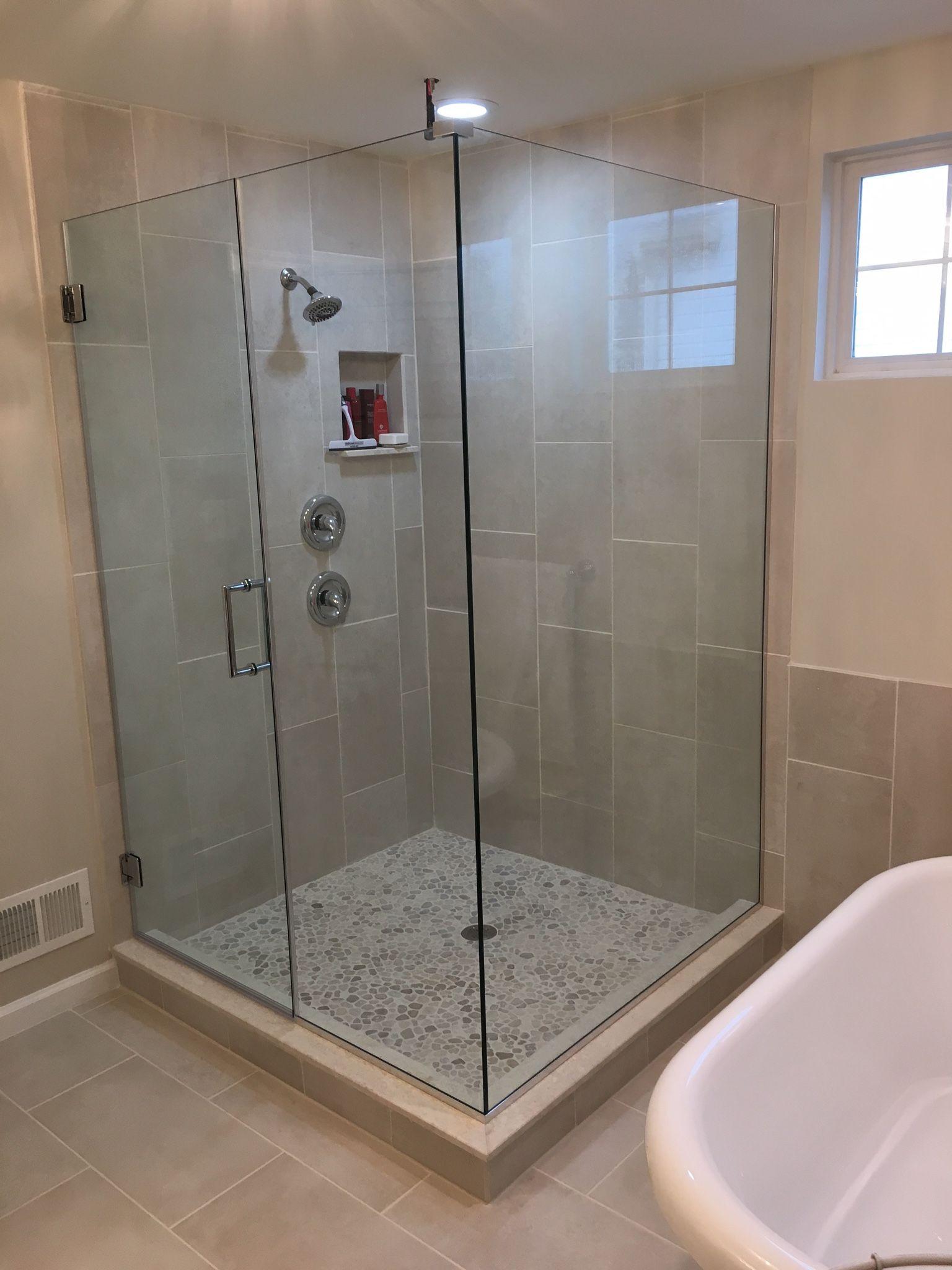 Maryland Frameless Showers Installation With Images Frameless