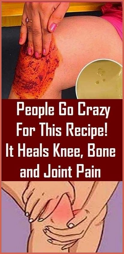 People Go Crazy For This Recipe! It Heals Knee, Bo