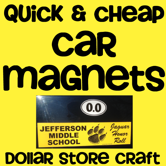 Bumper Sticker Turned Car Magnet Vent Covers Car Magnets And - Custom car magnets stickers   promote your brand