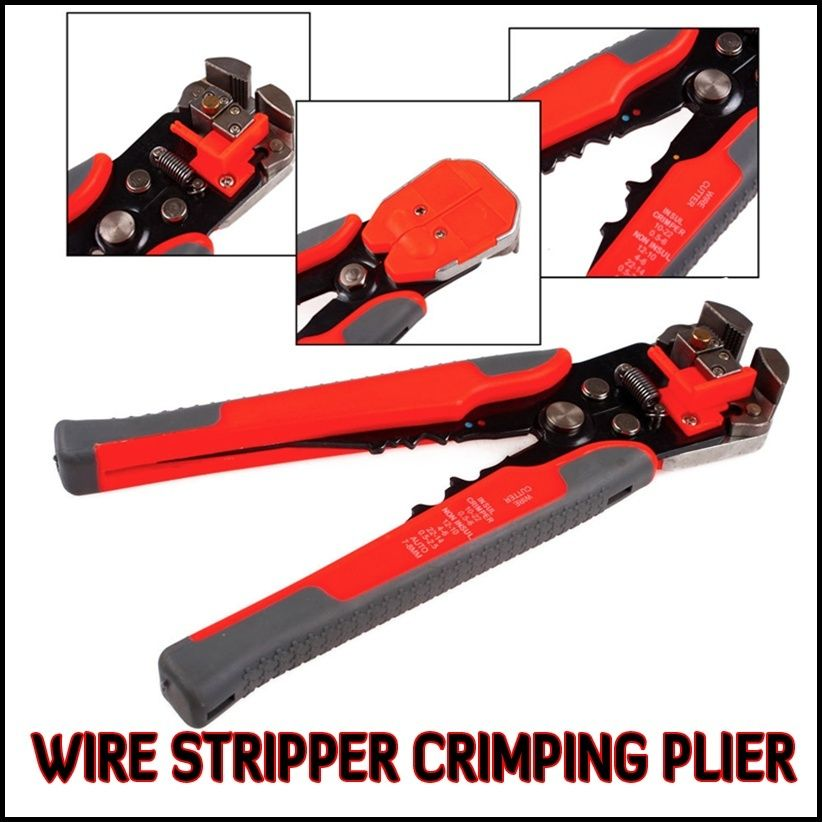 New Automatic Wire Cutter Stripper Crimping Tool Pliers Electrical ...