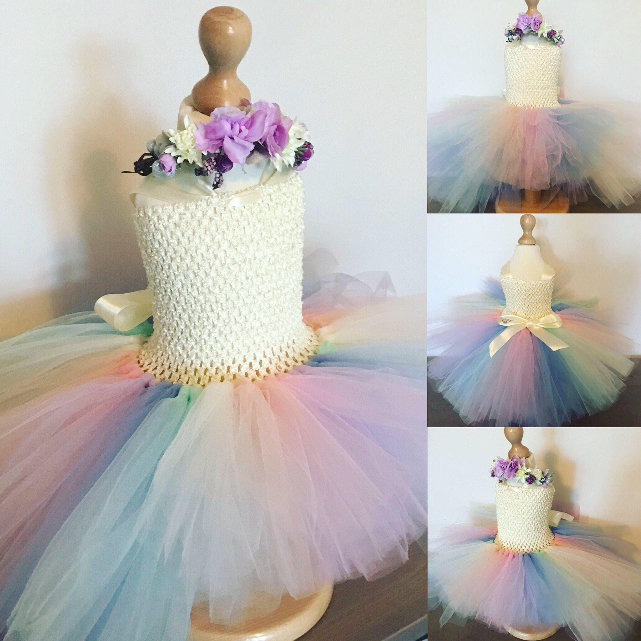High low unicorn tutu dress, unicorn tutu dress, unicorn tutu ...