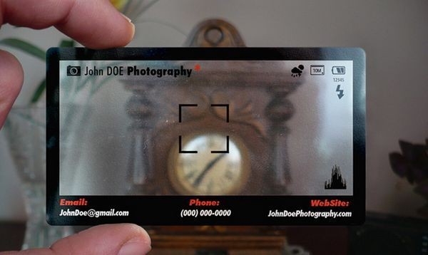 Photography business cards google search film pinterest business cards from bce online transparent clear frosted and aluminium card colourmoves