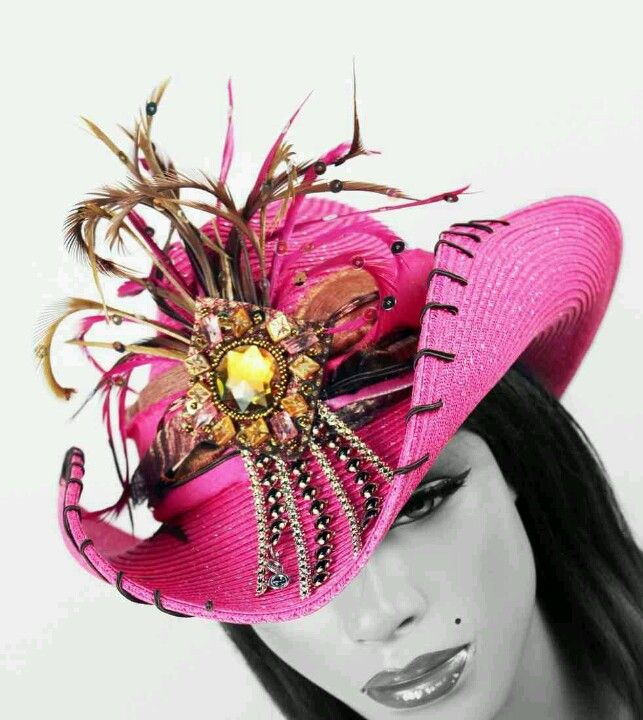 Whittal & Shon Designer Cowgirl Hat. Love it!!