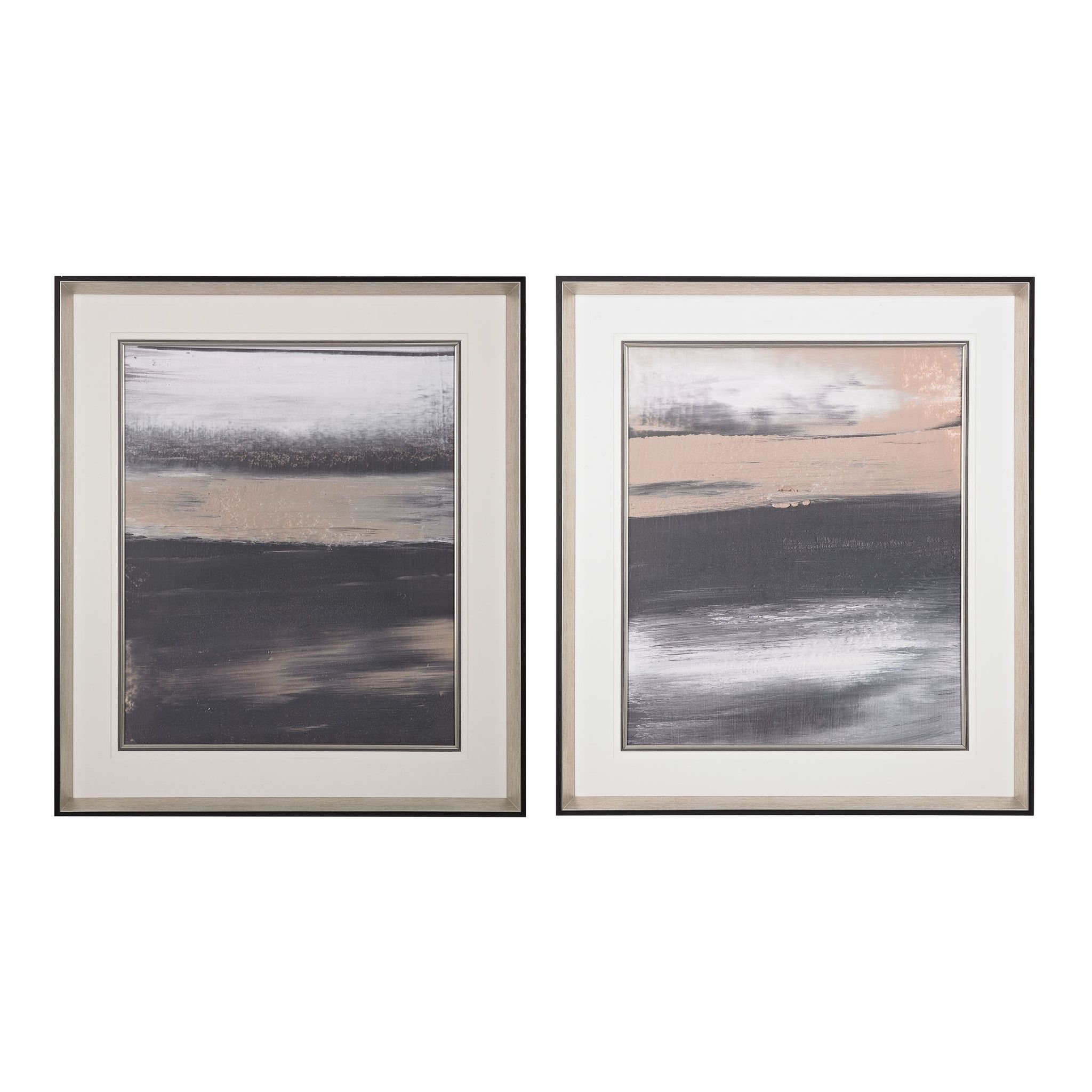 Sterling Industries Glide I, II- Limited Edition Print On Fine Art Paper Under Glass 151-017/S2