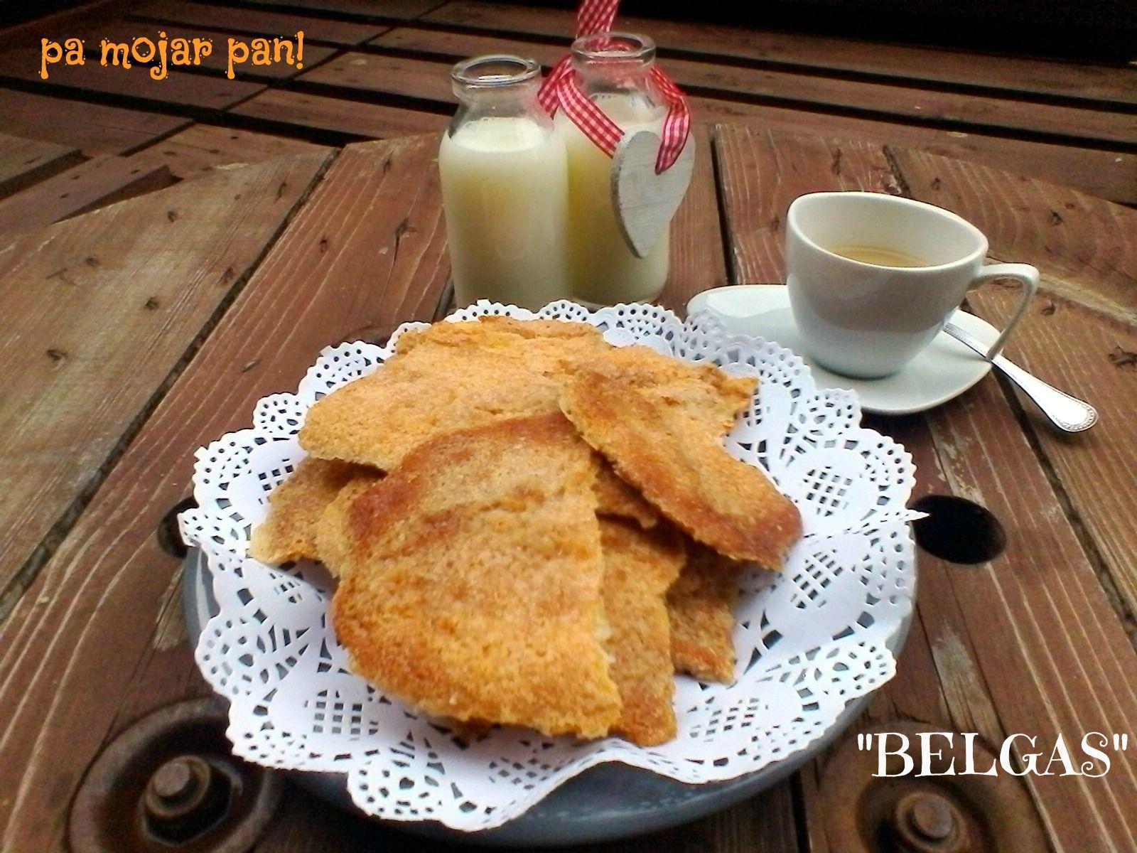 pa mojar pan!: Galletas Belgas