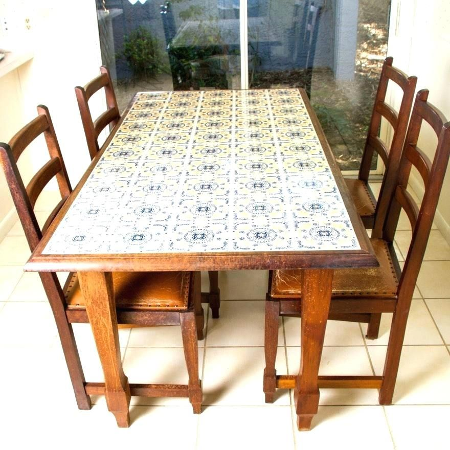 Tile Dining Table Google Search Dining Room Table Makeover
