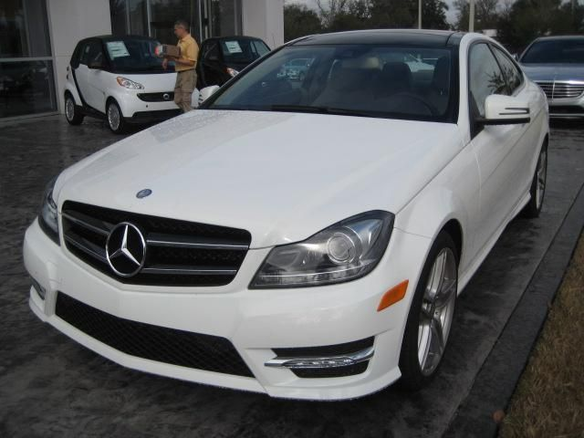 2014 Mercedes Benz C Class C350 C350 2dr Coupe Coupe 2 Doors White For Sale In Jacksonville Fl Source Http Www Used Used Mercedes Benz Mercedes Benz Benz C