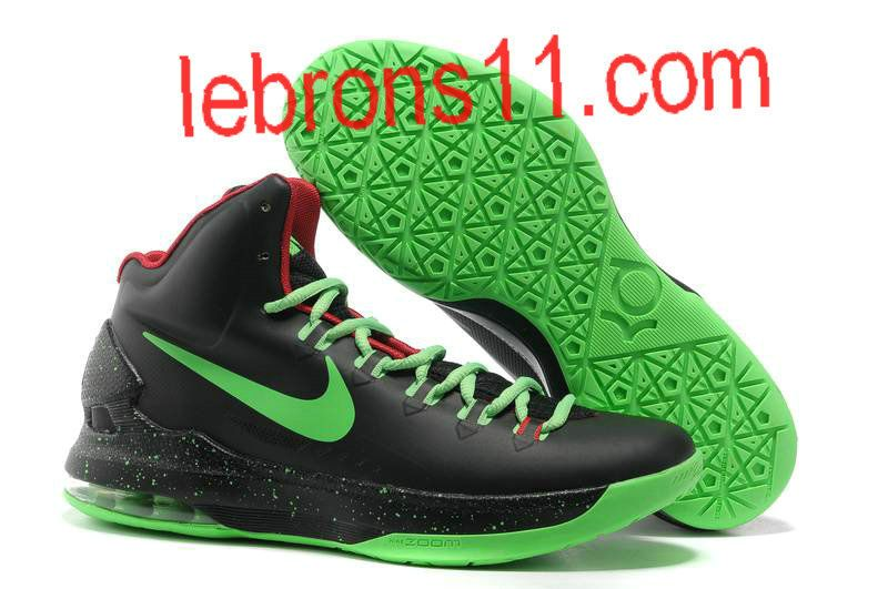 cc6ccc3b3a6a Kevin Durant 5 Black Volt Green Red Shoes