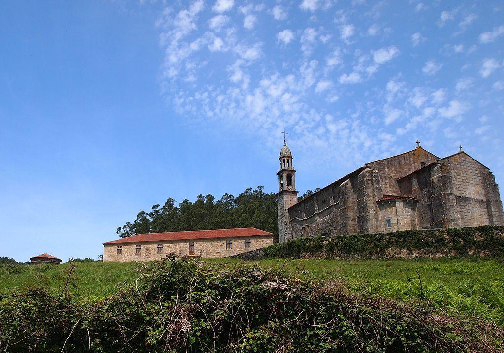 La Coruña Monasterio de San Julián de Moraime