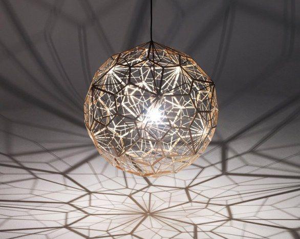Etch Light Web di Tom Dixon