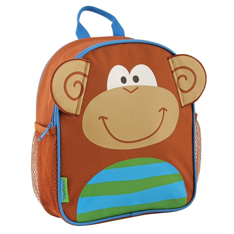 Stephen Joseph Boys Sidekick Monkey Backpack Lunch Box