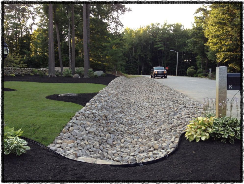 marvelous rock gardens landscaping designs | Marvelous Landscape Drainage | Landscape drainage ...