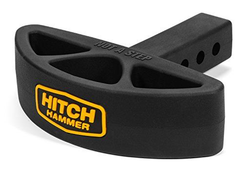 Hitchhammer Rear Hitch Mounted Bumper Guard Flexible R Rear Bumper Protector Hitched Truck Accessories