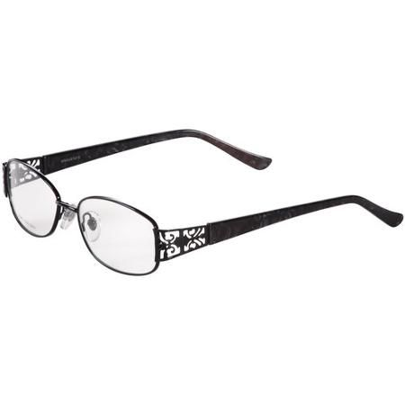 contour womens prescription glasses fm12003 shiny black