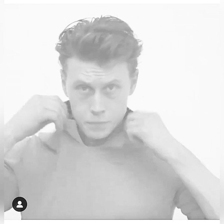 """🖤obsessed with george🖤 on Instagram: """"my heart🥵🥵 (video clip taken from @zoomagazine)"""""""