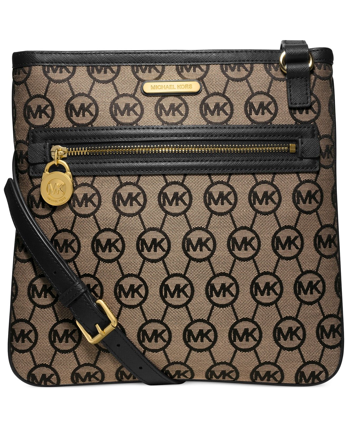 MICHAEL Michael Kors Kempton Large Crossbody - MICHAEL Michael Kors -  Handbags \u0026 Accessories - Macy\u0027s