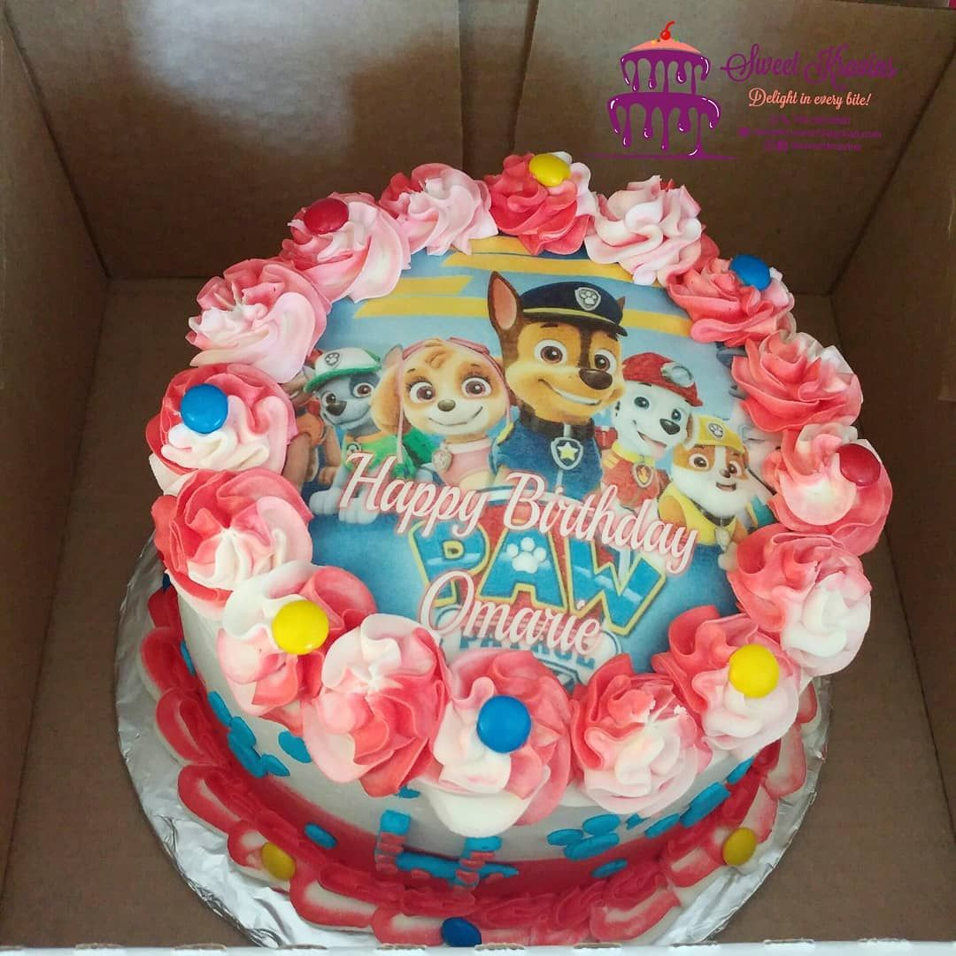 Paw Patrol Cake Get yours at @sweet_kravins
