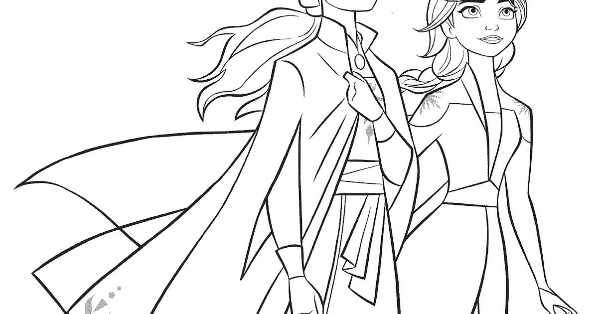 Frozen 2 Elsa And Anna Coloring Pages Youloveit Com How To Draw Elsa From Disney S Frozen 2 Frozen 2 In 2020 Coloring Pages Elsa Coloring Pages Frozen Coloring Pages