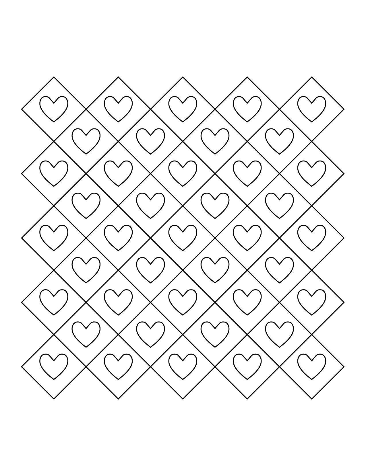 3d heart granny square baby blanket pattern-01 | Crochet Baby ...