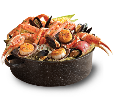 Kj steampot joe 39 s crab shack garlicky mussels scallops for Two fish crab shack