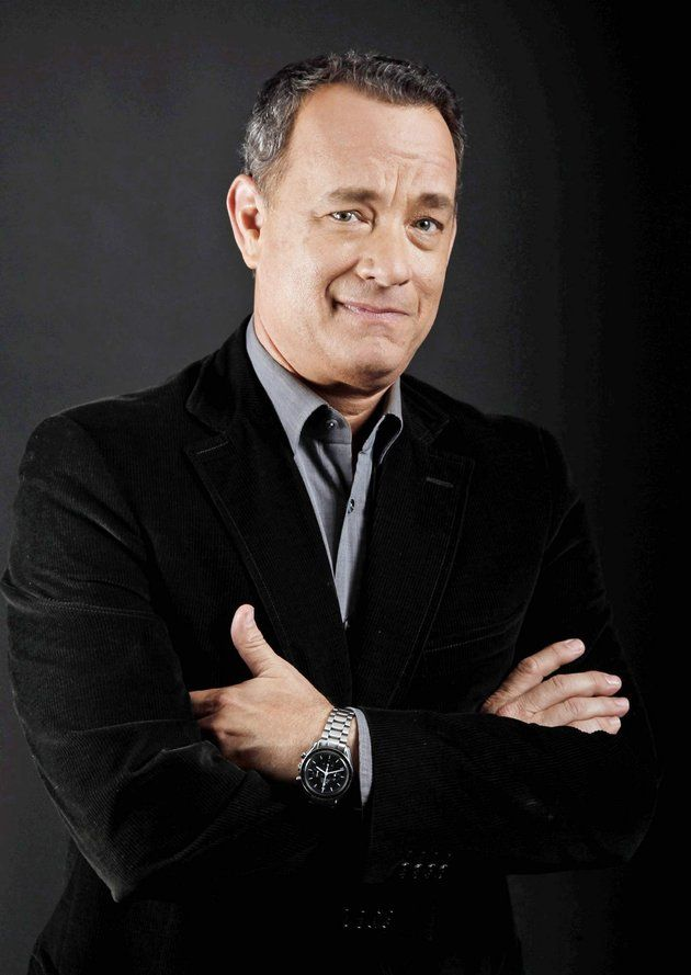 Tom Hanks Sporting His Omega Speedmaster Watches On