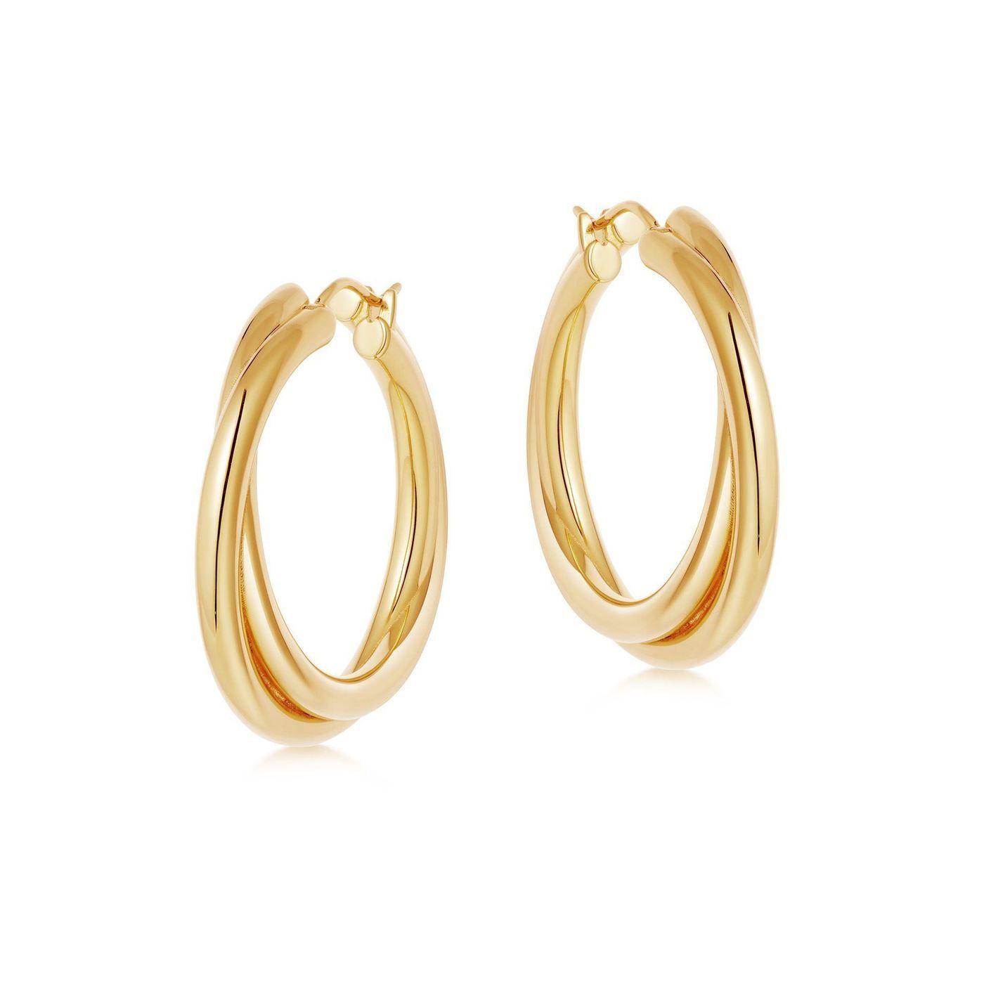 25+ Fine jewelry gold hoop earrings info