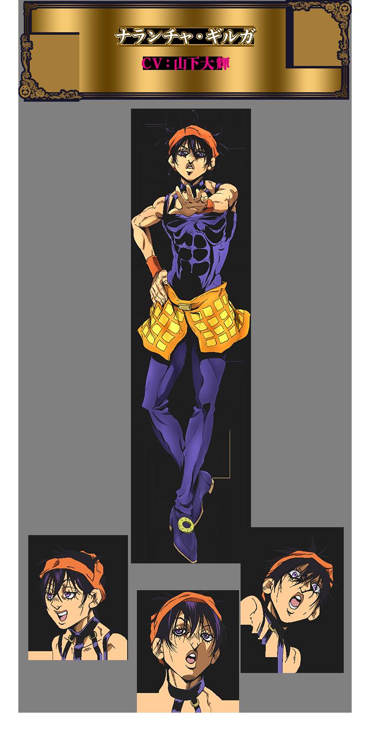tvアニメ ジョジョの奇妙な冒険 黄金の風 公式サイト ジョジョ ジョジョ アニメ アニメ