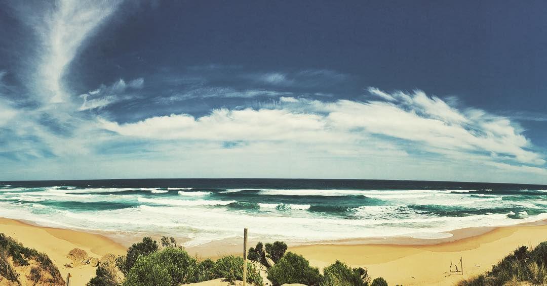 Living in #straya  #greatoceanroad #australia #victoria #life #beach #stunning #igdaily #picoftheday #clouds #skyporn by matt_i_am