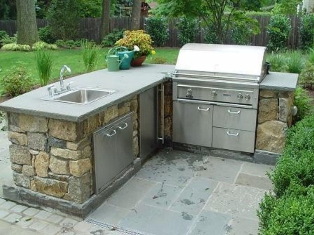 L Shaped Outdoor Kitchen Dimensions Stainless Steel Outdoor