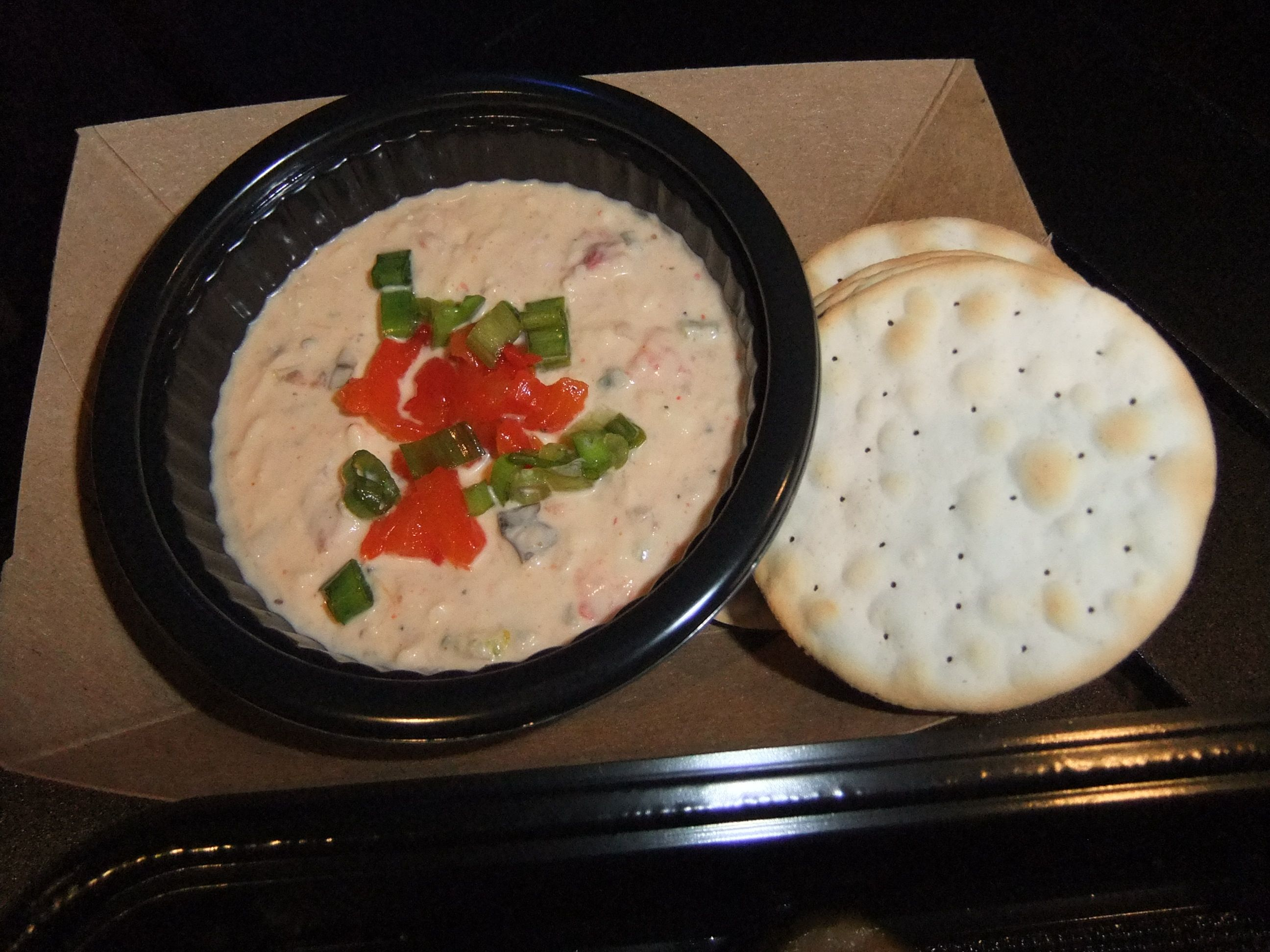 Spicy Pimento Cheese Dip served at Craft Beer in the Odyssey building during Epcot Food & Wine 2014.