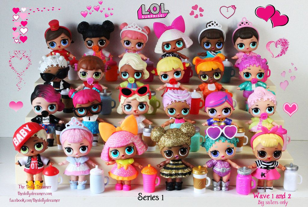 I Finished Collecting Series 1 Of Lol Surprise Dollies This Is