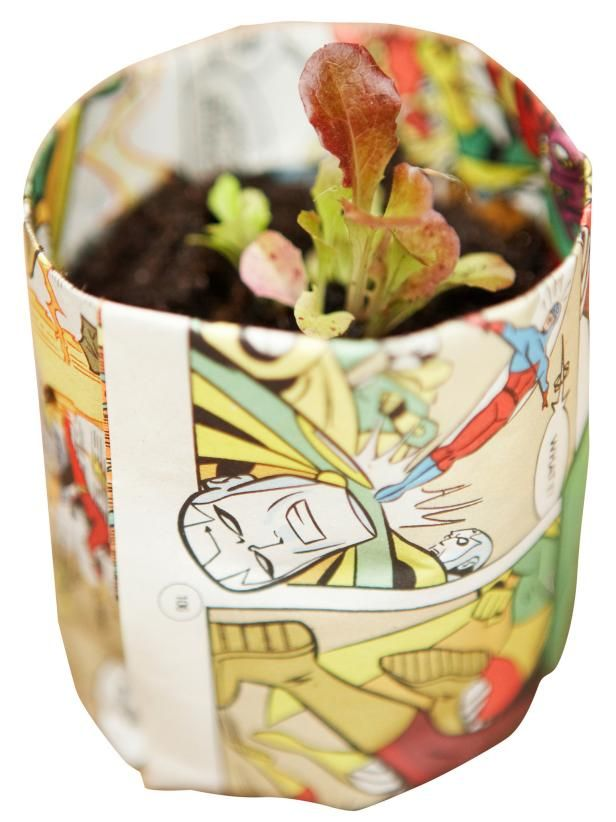 Create Newspaper Pots For Seed Starting Growing 400 x 300