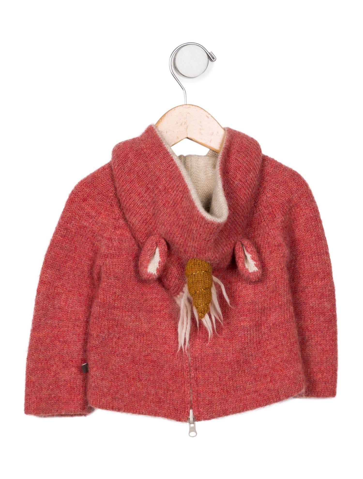 Oeuf Girls' Baby Alpaca Reversible Sweater #SPONSORED #Girls