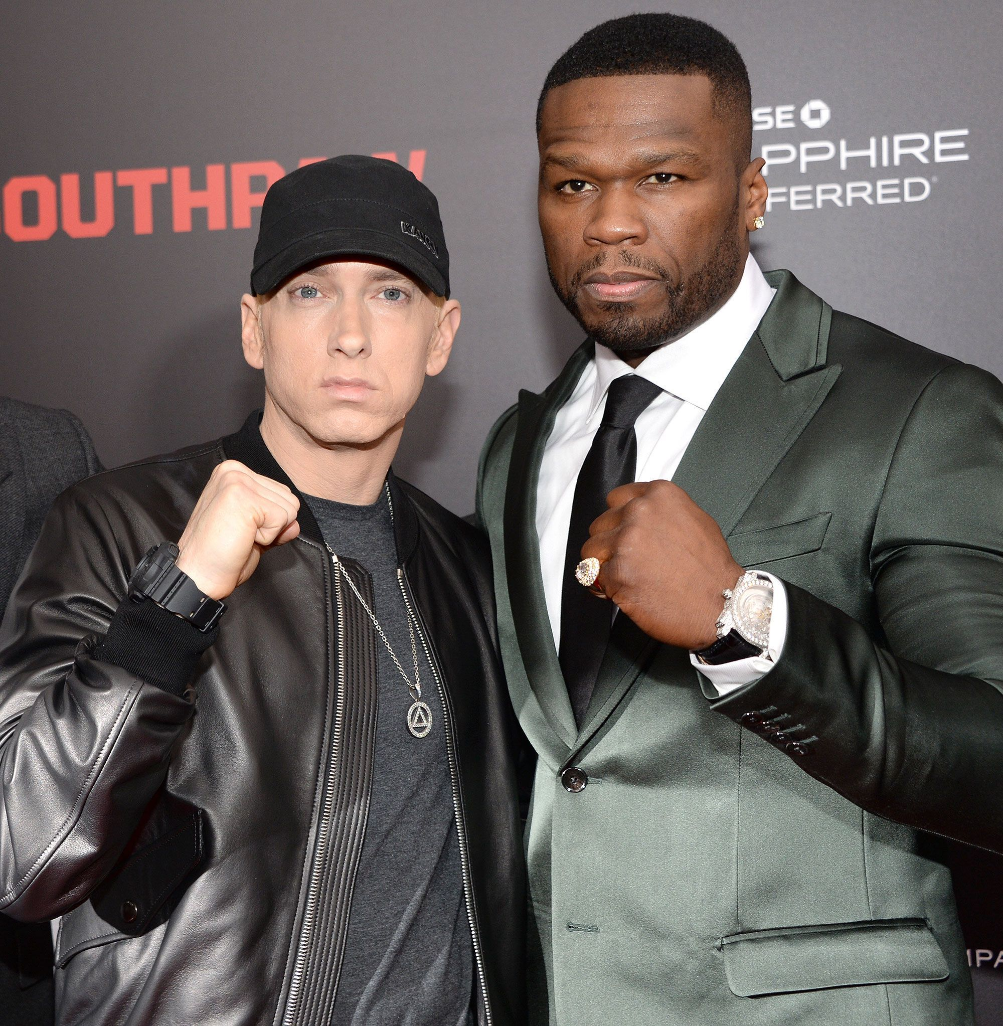 Eminem Raps 50 Cent S 8 Mile Verse For His Friend S Birthday As He