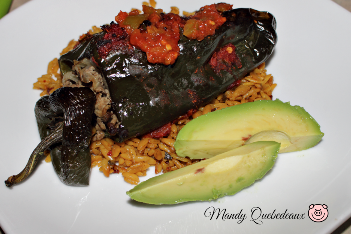 Healthy Baked Chili Rellenos Recipe