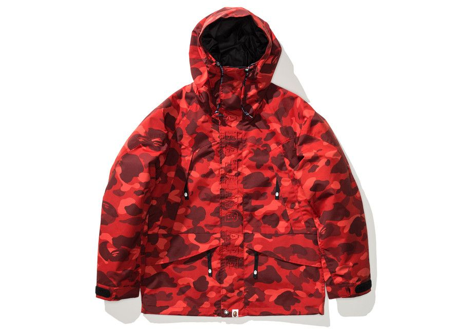 cc7d1ed83 BAPE COLOR CAMO SNOWBOARD JACKET | Undefeated | Never Forget the ...