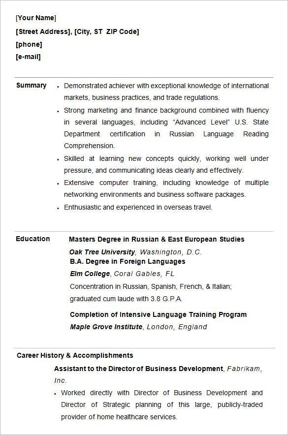 Sample Resume For College Students Fascinating Resume Templates College Student #college #resume #resumetemplates .